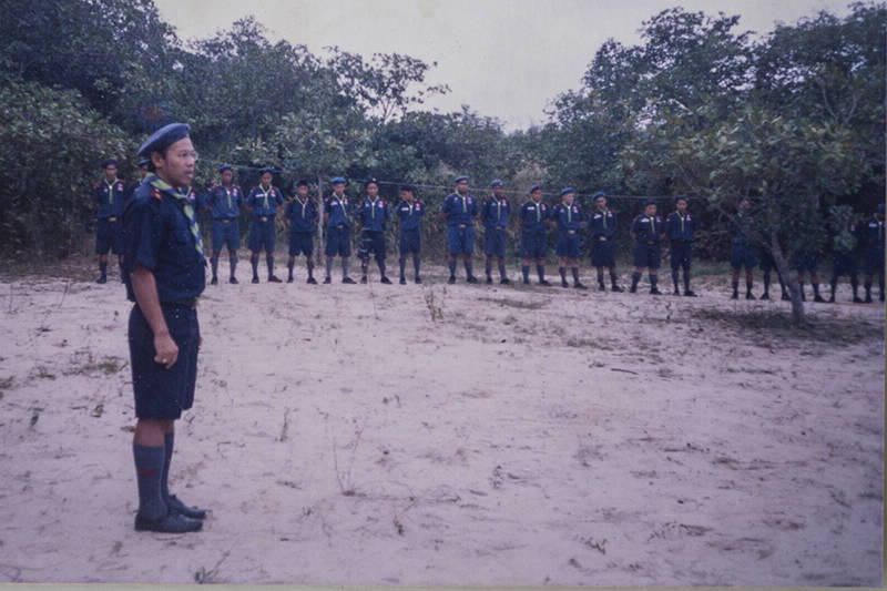 Boy Scouting in Thailand, 1990s